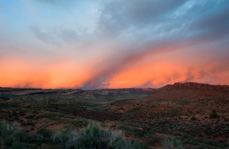 Sky Fire<br /> Arches National Park, Utah<br /> 2010