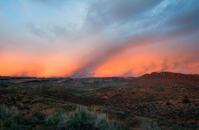 Sky Fire Arches National Park, Utah 2010