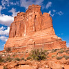 Courthouse Rock<br /> Arches National Park, Utah<br /> 2010