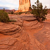 Layers<br /> Courthouse Rock, Arches National Park, Utah<br /> 2010