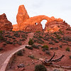 Turret Arch<br /> Arches National Park, Utah<br /> 2010