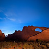 Skyline Arch<br /> Arches National Park, Utah<br /> 2010
