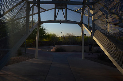 Downtown Tucson - Rattlesnake Bridge