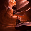 Twists and Turns<br /> Upper Antelope Canyon, Navajo Tribal Park, Arizona<br /> 2010