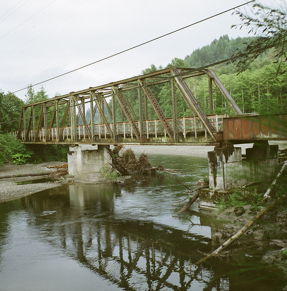 Railway Bridge over North Fork of the Stilly