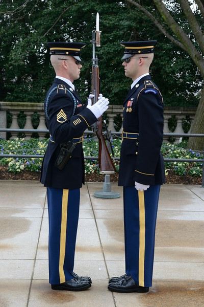 Changing of the Guard, Tomb of the Unknown.