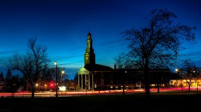 University Presbyterian at the corner of Main Street and Niagara Falls Blvd in Buffalo, NY.