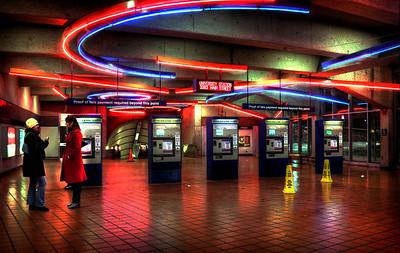 University metro station near UB South Campus.