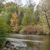 Huron River in October