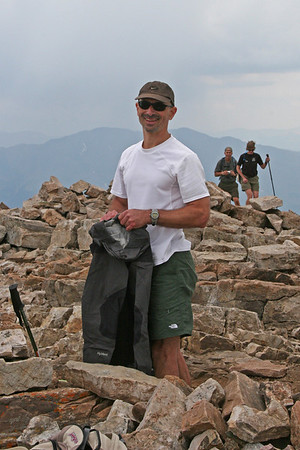 Tony at Quandary Peak.
