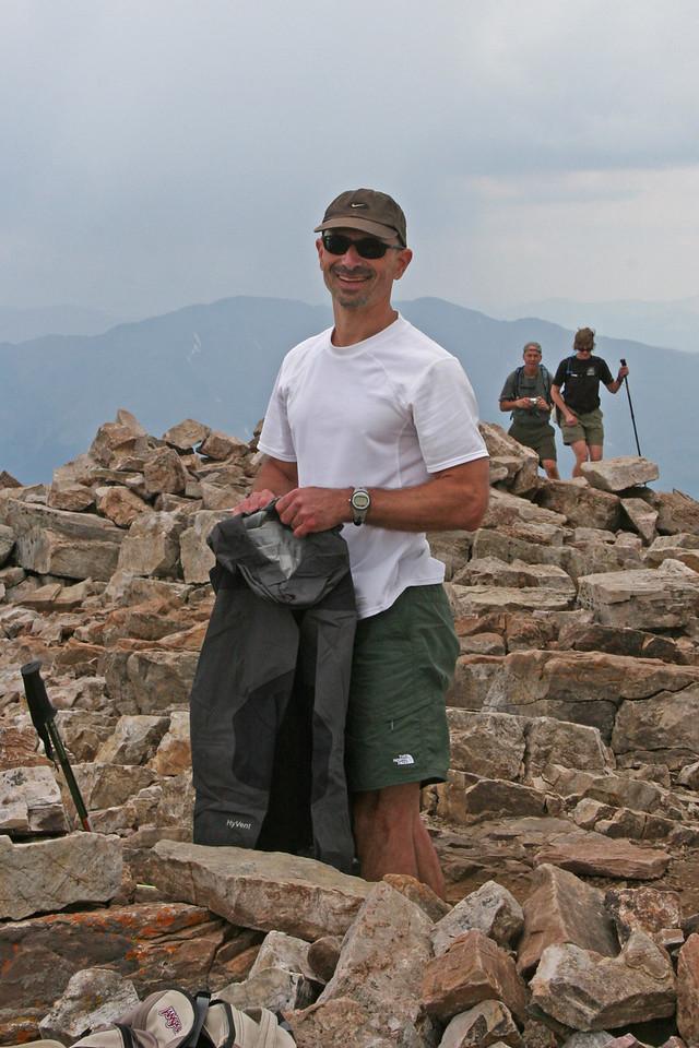 Tony at Quandary Peak.