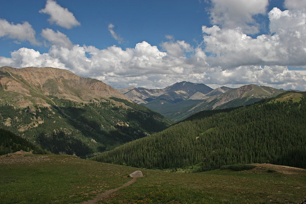 East from Independence Pass, +12K feet