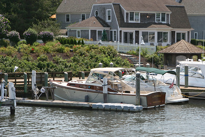 A classic in Falmouth Harbor.