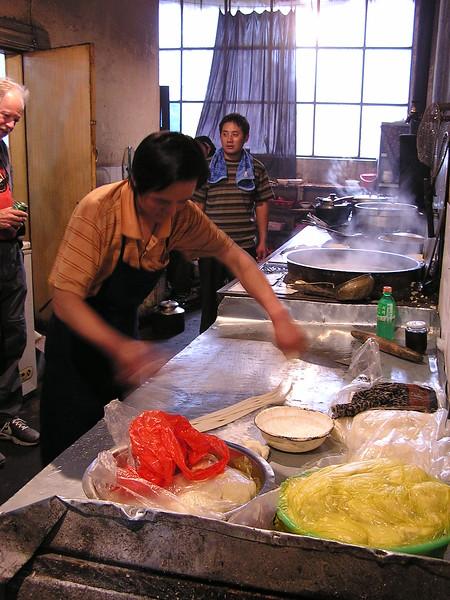 137 making noodles