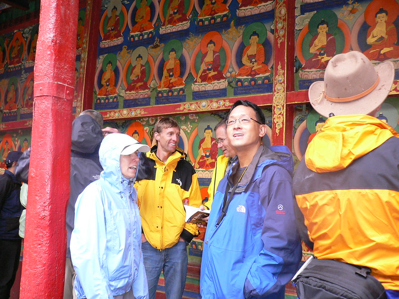 148 T monastery visitors