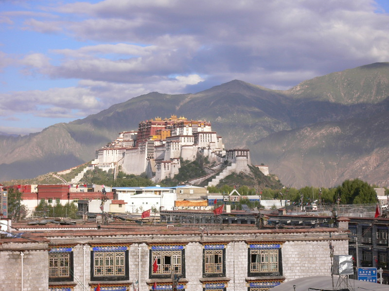 15 View of Potala from hotel 2