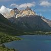 Torres del Paine National Park, Chile<br /> Lake Skottsberg