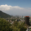"From the top of Cerro Santa Lucia (a park) in Santiago looking northeast towards the Andes Mountains. See: <a href=""http://en.wikipedia.org/wiki/Santa_Lucia_Hill"">http://en.wikipedia.org/wiki/Santa_Lucia_Hill</a>"