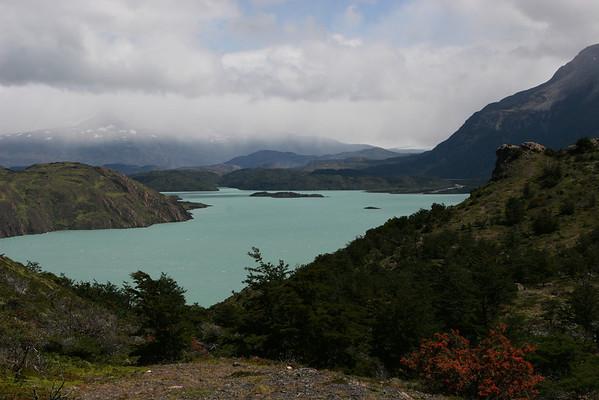 Torres del Paine National Park, Chile<br /> Lake Nordenskjol