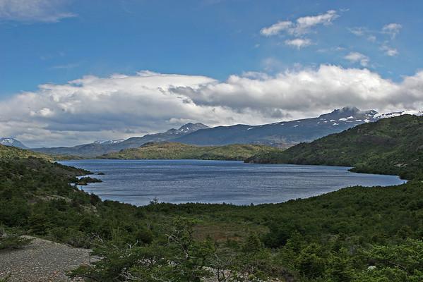 Torres del Paine National Park, Chile<br /> Lake Pehoé