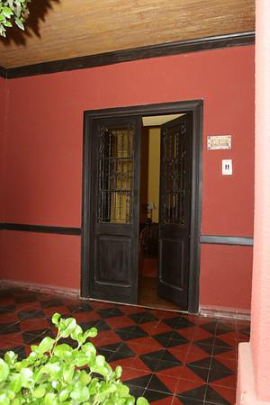 Casa San Regis outside San Esteban in the Aconcagua Valley. See: http://www.casasanregis.cl/2008/