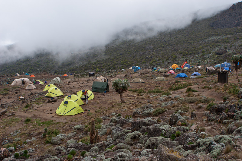 Day four hike. Barranco Camp.