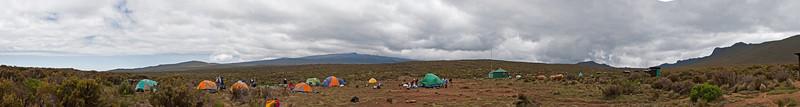 Day two hike. Shira Camp 1.