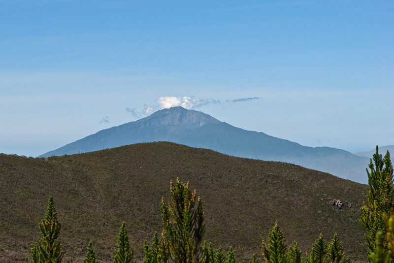 Day two hike. Mt Meru.