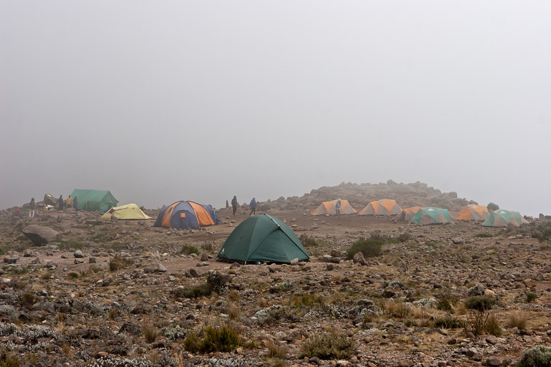 Day four hike. Barranco Camp.