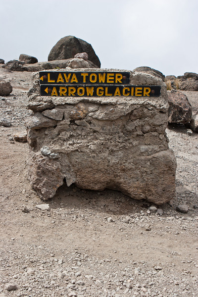 Day four hike. Heading to Lava Tower and Barranco Camp.