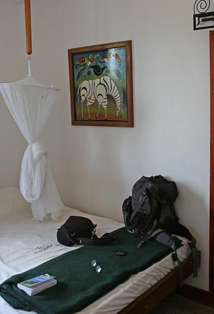 Hotel Kindoroko in Moshi.  http://www.kindorokohotels.com/