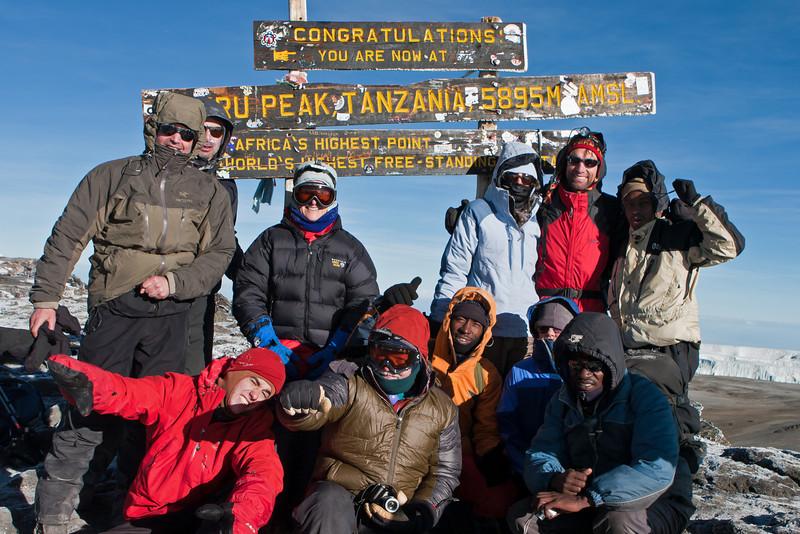 Day six hike. Uhuru Peak
