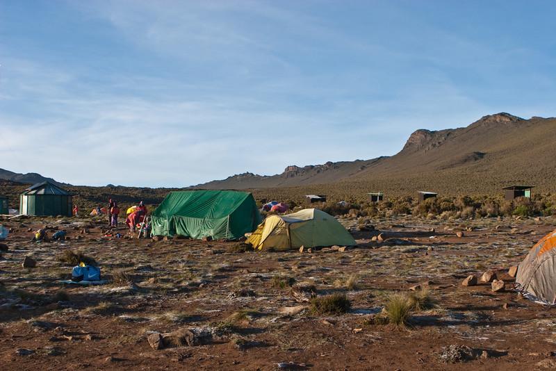 Day three hike. Shira Camp 1.