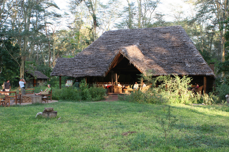 "Migunga Forest Camp just east of  Lake Manyara National Park. <a href=""http://www.moivaro.com/pages/migunga_forest_camp/lodge.htm"">http://www.moivaro.com/pages/migunga_forest_camp/lodge.htm</a>"