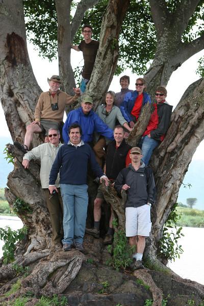 Top: Michael Moore, Middle L-R: Dan Kibler, Art McLean, Dorothy McLean, Liz Miller, Heather Larson, Allan Wright. Front L-R: David Moore, Francisco Barahona, Rick Otis, Tony Santucci.