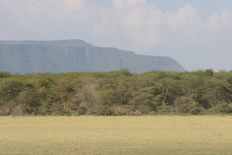 Manyara Escarpment on the edge of the Rift Valley, northwest of Lake Manyara.