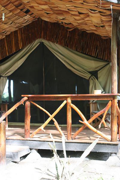 Individual chalet at Migunga Forest Camp just east of  Lake Manyara National Park.