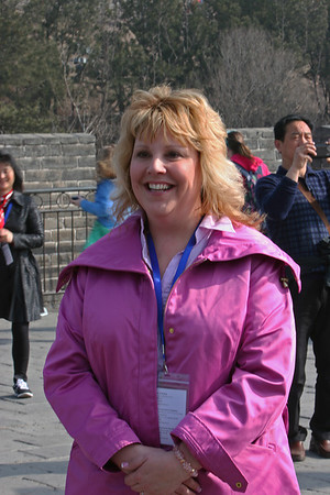 ENCSS/RAB/DNR. March 17, 2013. Trip to the Great Wall, Badaling, China ( http://www.badalinggreatwall.com/ ). Cathy Stepp.