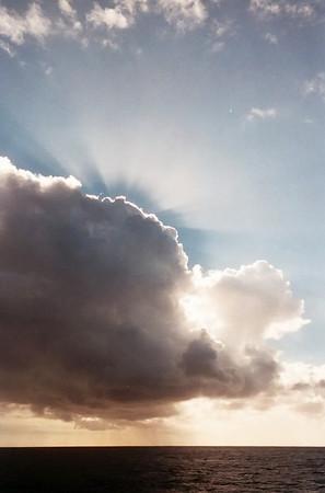 Sunburst - captured on a disposable, waterproof Kodak camera at ISO 800.