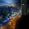 Suwon Night Approach