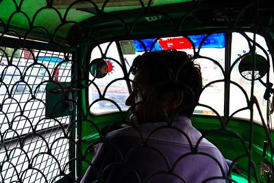 08IB863 Autorickshaw Driver Autorickshaw Bangladesh Dhaka