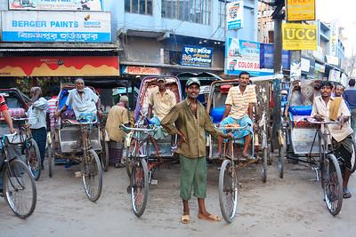 08IB582 Bangladesh Jessore Rickshaw Rickshaw Driver