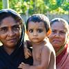08IB611 Bagerhat Bangladesh Kids Older Women Portraits
