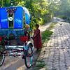 08IB617 Bagerhat Bangladesh Kids Rickshaw Street Transport