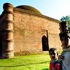 08IB610 Building Bagerhat Bangladesh Islam Kids Faith Tomb