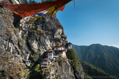 Taktsang Lhakhang, The Tiger's Nest Monastery