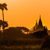 Old Bagan sunset