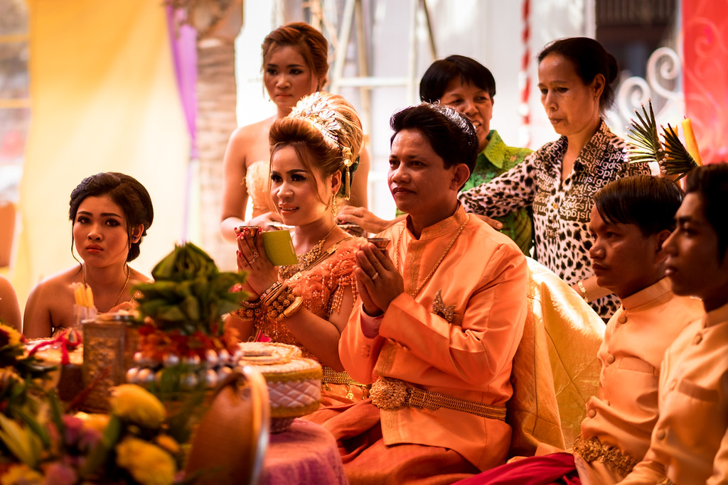 Khmer Village Wedding