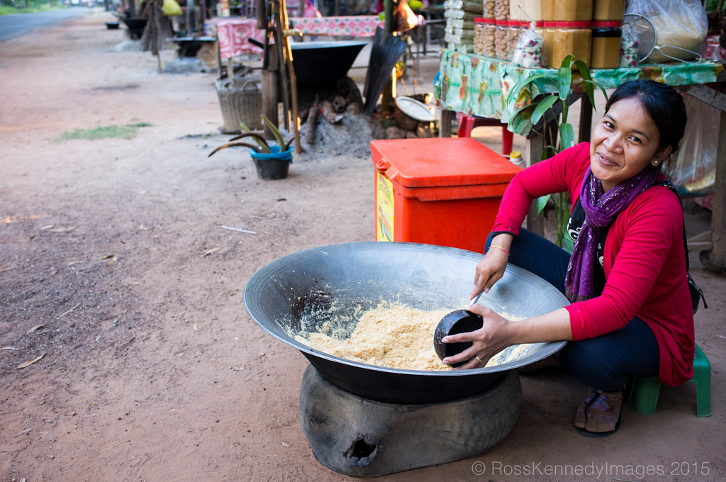 Palm Sugar Lady, Siem Reap