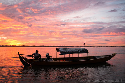 Mekong Sunset, Kratie